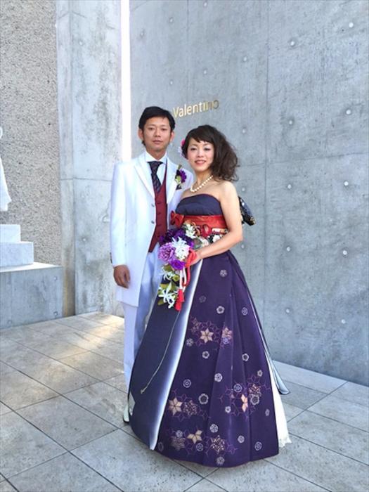 свадебные платья из кимано 12 (525x700, 351Kb)