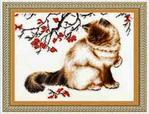 Превью К-006 Задумчивый кот (262x200, 67Kb)