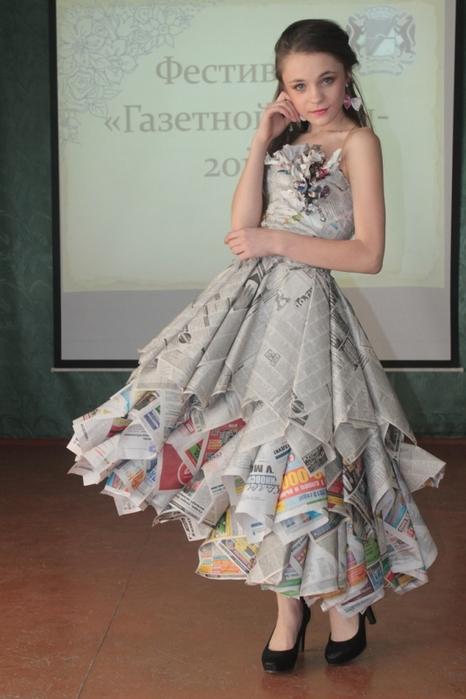 Платье с журналов своими руками