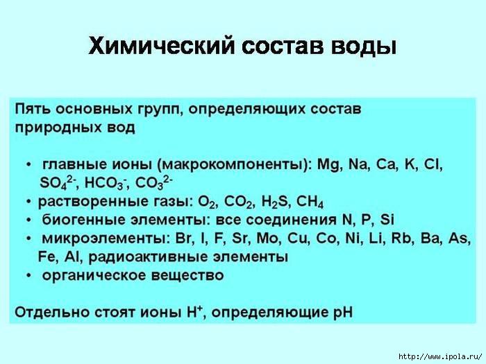"alt=!Какую воду мы пьём?""/2835299_himicheskii_sostav_vodi (700x525, 165Kb)"