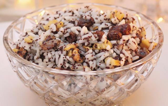 Кутья рождественская с рисом рецепт