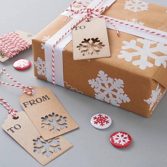 Украшение новогодних коробок своими руками