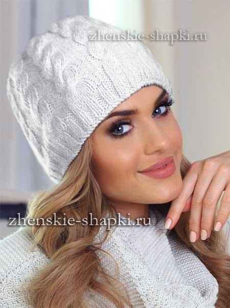 Вязать красно белую шапку
