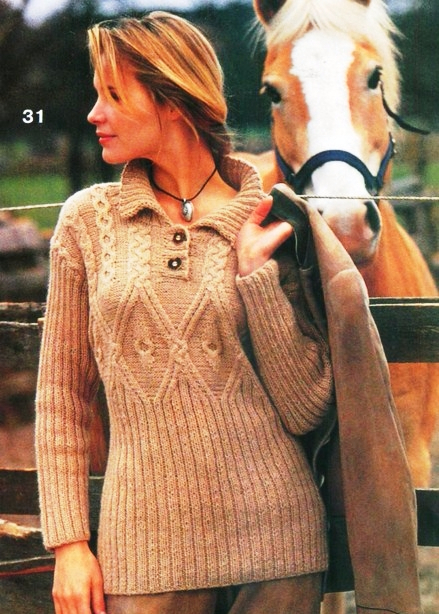 Модели Вязаных Женских Джемперов