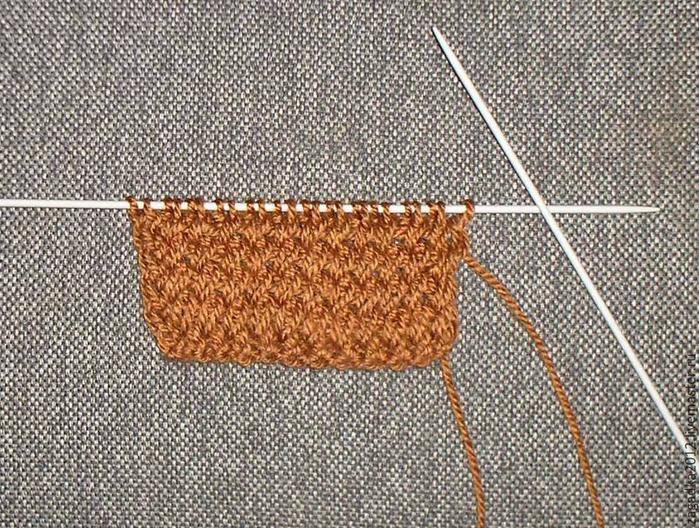 Вязание наклонные петли 31