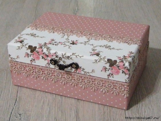 Декор для коробочек
