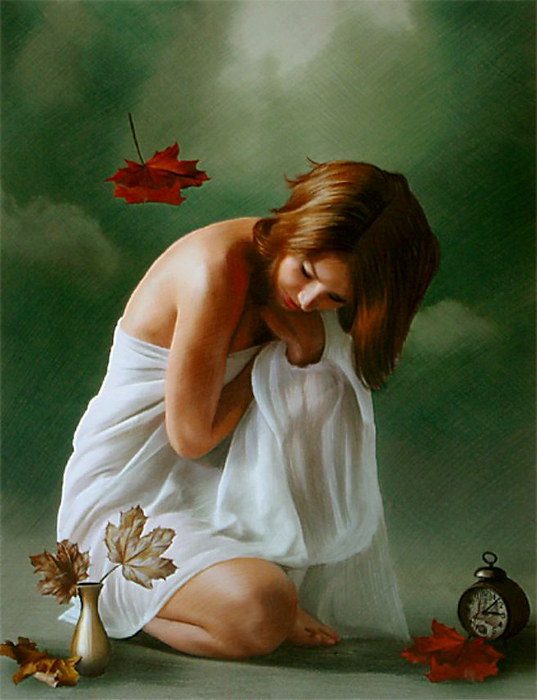 Red Dreams - Brita Seifert 1963 - Dutch Surrealist painter - Tutt'Art@ - (35) (537x700, 336Kb)