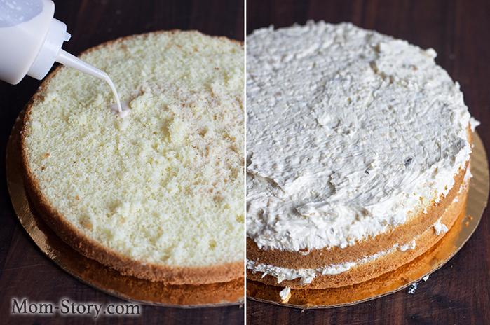 Торт с белками рецепт с фото