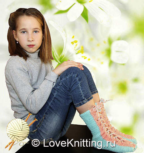 20 Автор Носки на шнуровке 1 МТ2 (500x534, 257Kb)