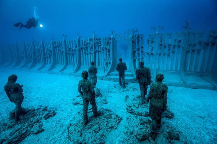 подводный музей Atlantico 2 (700x466, 400Kb)