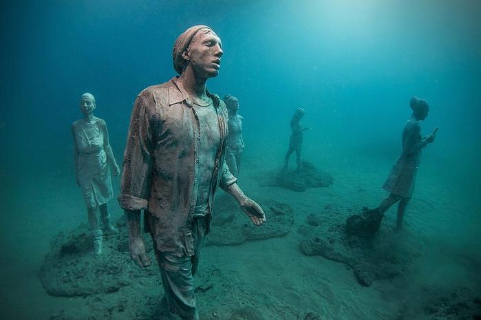 подводный музей Atlantico 4 (700x466, 282Kb)
