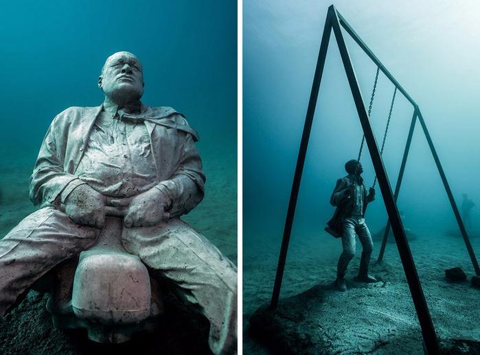 подводный музей Atlantico 10 (700x518, 344Kb)