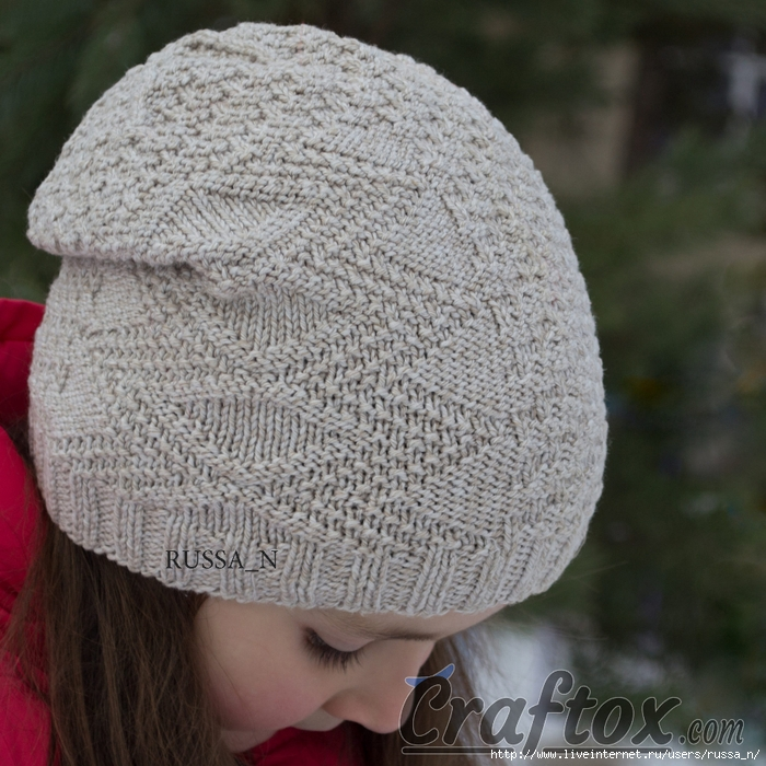 Knitting Patterns For Beginners Beanie : ??? ?????? ????? ??????: ????? ???????............