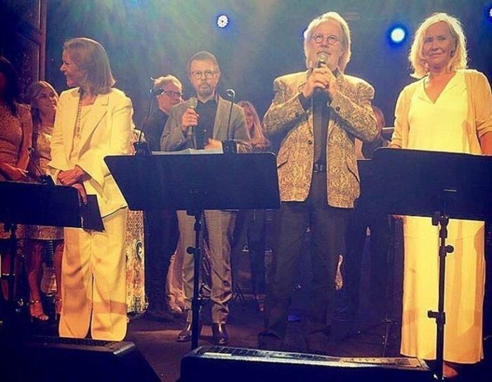 Участники легендарной группы ABBA в наши дни (фотографии шведских музыкантов)