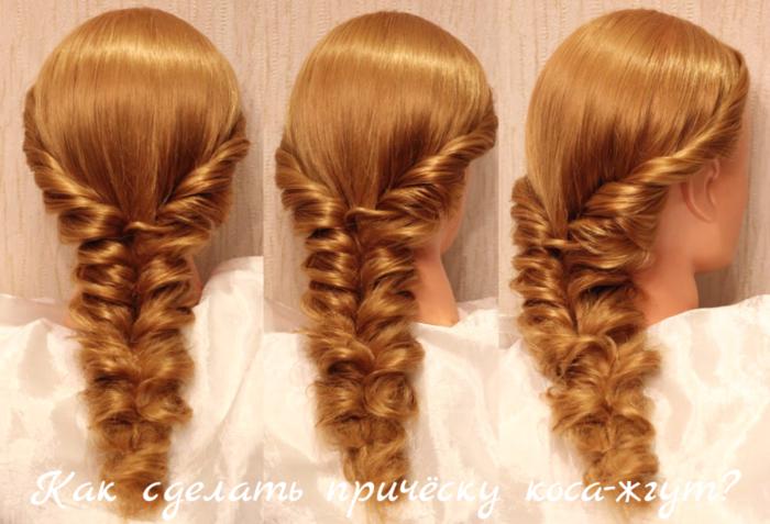 """alt=""""Как сделать причёску коса-жгут?""""/2835299__1_ (700x477, 535Kb)"""