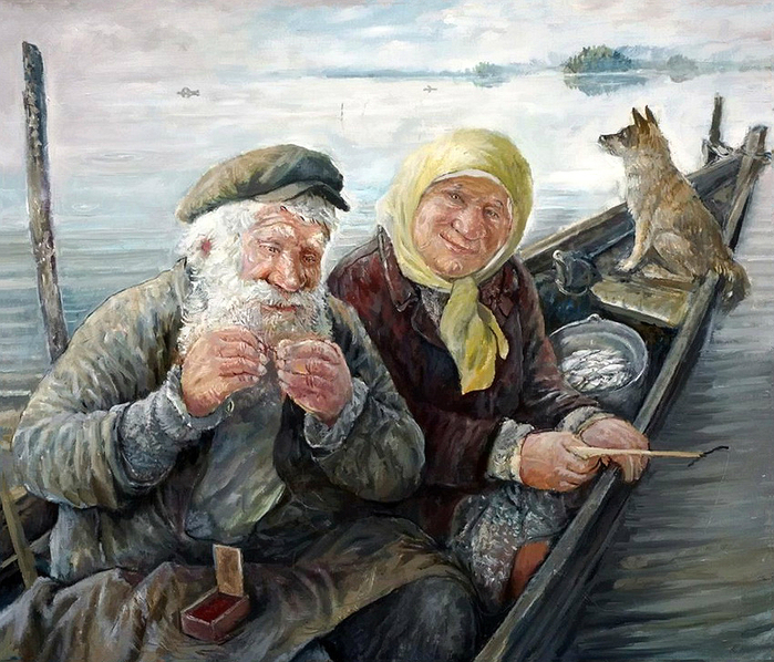 картины художника Леонида Баранова