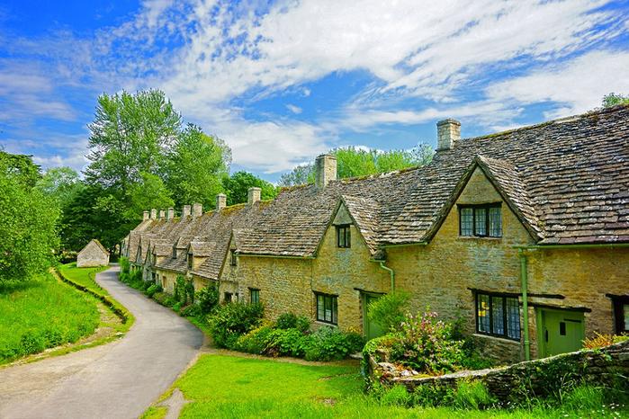 средневековая английская деревня 2 (700x466, 510Kb)
