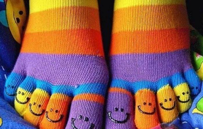 Покажи свои носки и я скажу, кто ты!