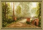 Превью ЛП-012 Мост в старом парке (550x390, 315Kb)