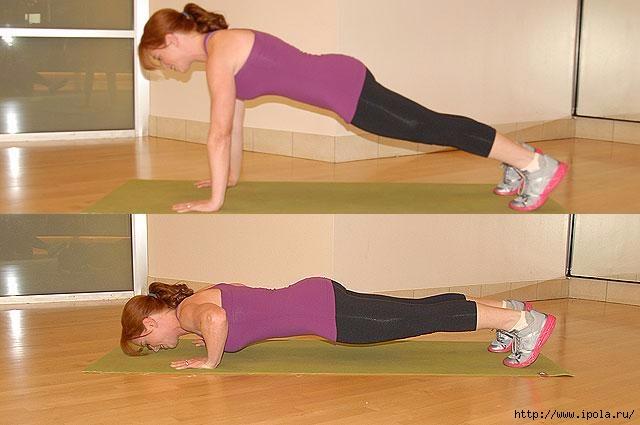 быстро убрать жир живота упражнения