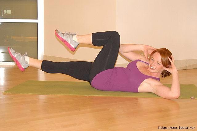 упражнения убрать жир со спины