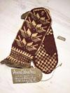 Теплые рукавички (теплые варежки) из натуральной шерсти