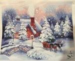 Риолис вышивка перед рождеством 86