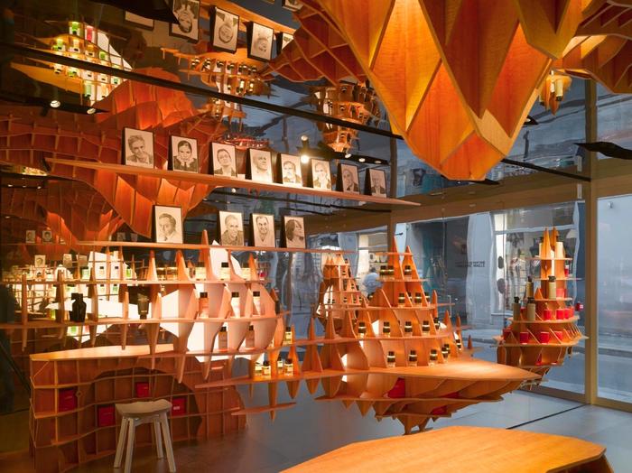 стильный дизайн магазина парфюмерии 6 (700x524, 493Kb)