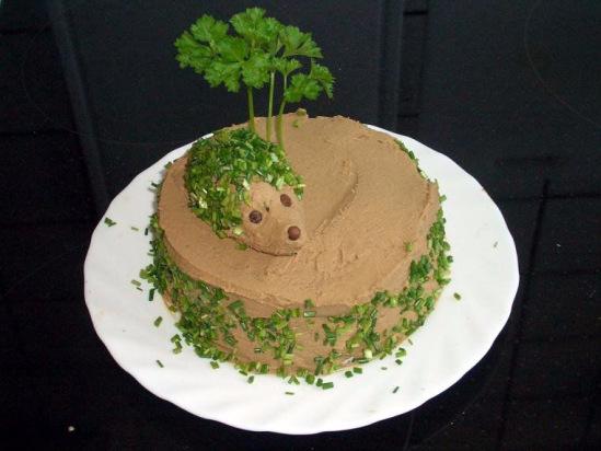 Рецепт нежного печеночного паштета