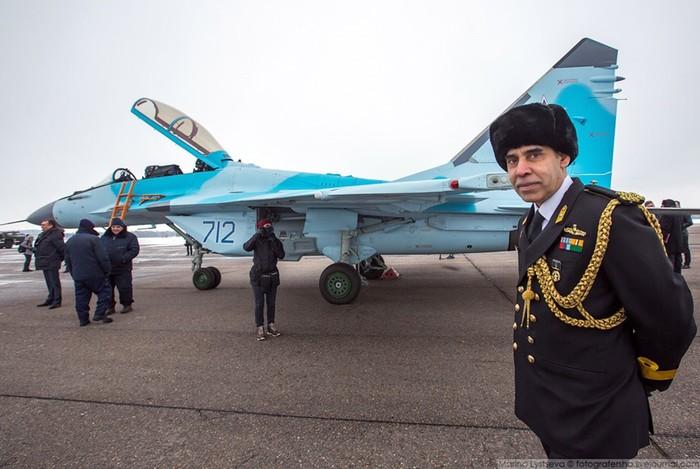 Презентация нового истребителя МиГ 35