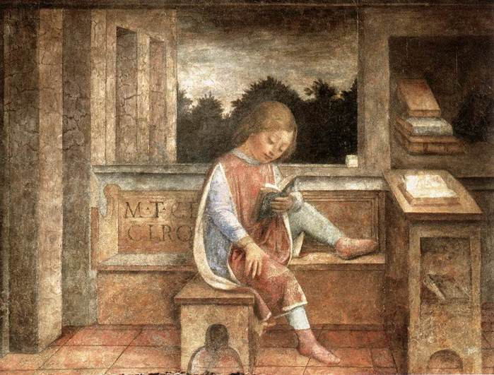 The Young Cicero Reading (700x531, 69Kb)