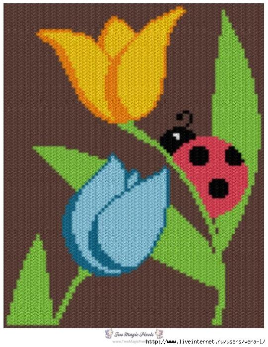 """温暖的覆盖""""花卉床毯"""" - maomao - 我随心动"""