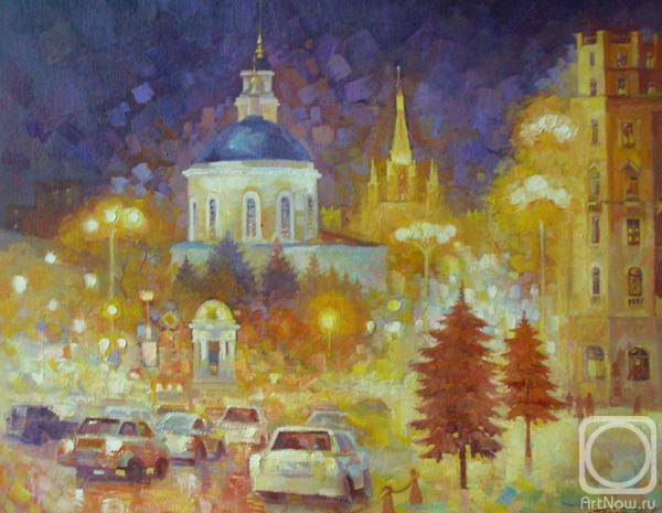 Москва. Никитские Ворота (600x465, 151Kb)