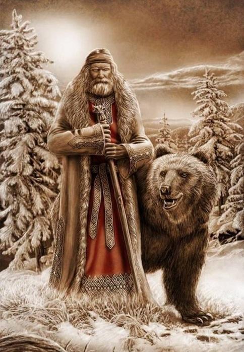 Велес и медведь (484x700, 151Kb)