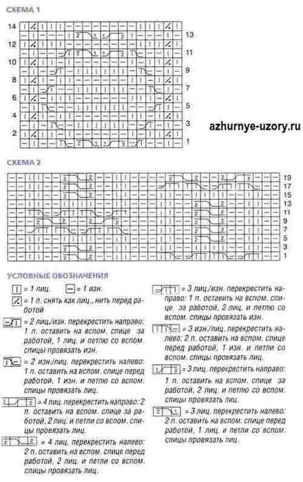 Uzor-spitsami-s-kosami-dlya-plat-ya (440x700, 190Kb)