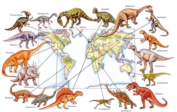 Почему было так много видов динозавров?