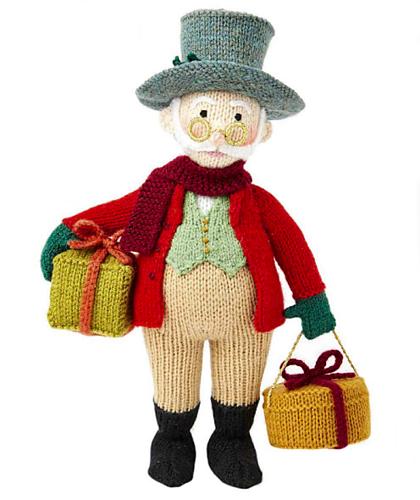 Вязаные игрушки от Алана Дарта. Дедушка Jolly (4) (420x500, 229Kb)