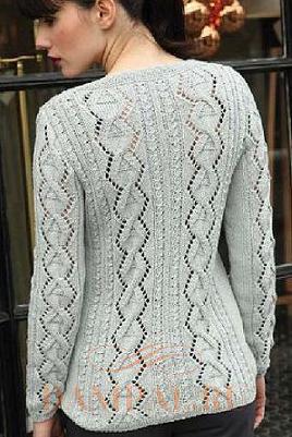 Пуловер спицами с необычным вырезом горловины/5369832_ (268x401, 258Kb)