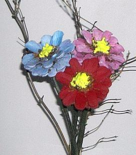 Цветы из шишек, семечек, листьев кукурузы, фисташек и макарон (2) (272x311, 72Kb)