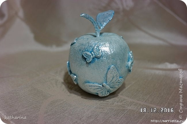 Яблочки из папье-маше. Мастер-класс (5) (650x433, 121Kb)
