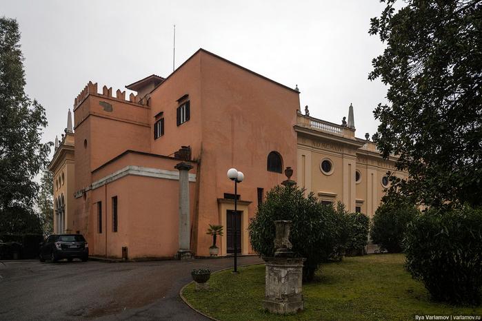 вилла Абамелек российское посольство в италии 6 (700x466, 349Kb)