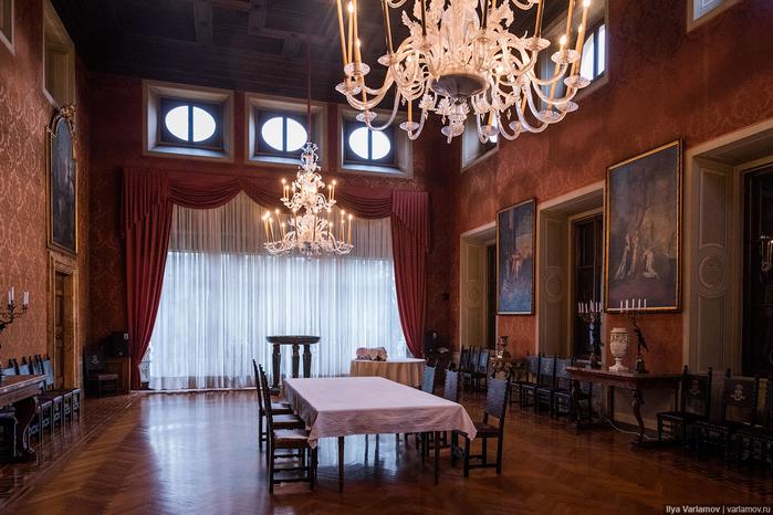 вилла Абамелек российское посольство в италии 15 (700x466, 400Kb)