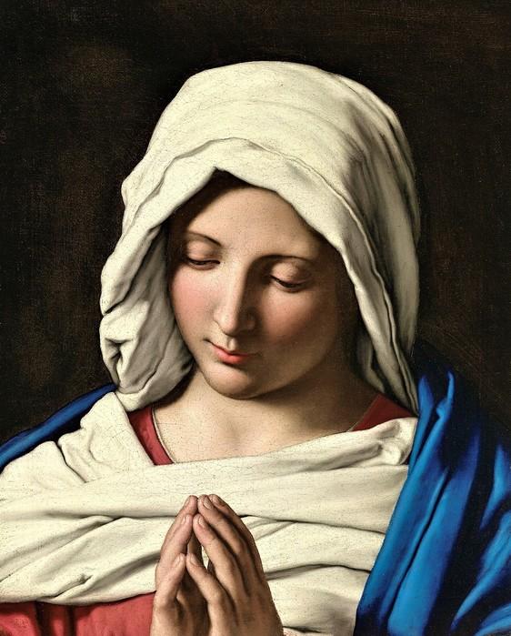 Молящаяся Мадонна     1638-1652    (The Madonna in Prayer)   47.8 х 38.7     Мельбурн, Национальная галерея Виктории (562x700, 124Kb)