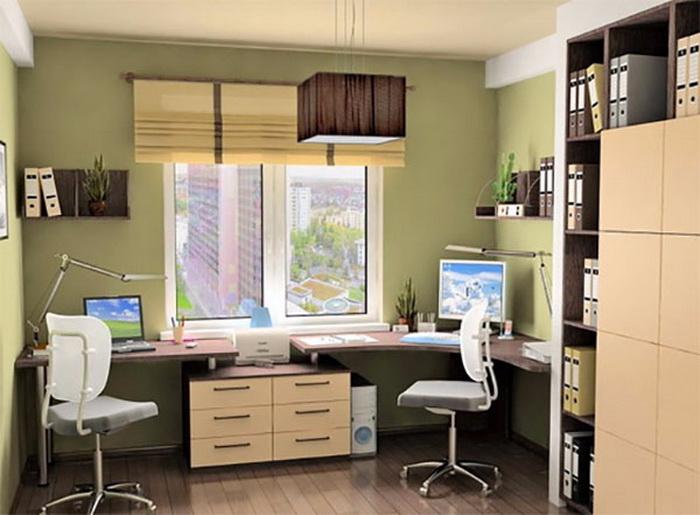 Рабочее место в домашних критериях мак-мебель.