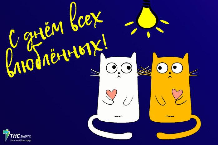 котики влюбоённые (700x466, 65Kb)