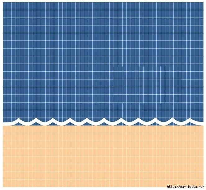 Крючком. Детский плед с морем, парусниками и воздушными шарами (25) (663x610, 246Kb)