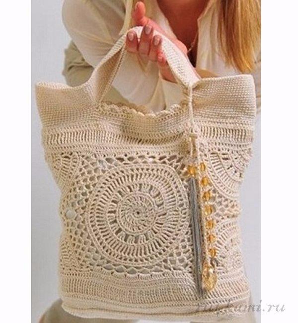 Фото схемы крючком сумки