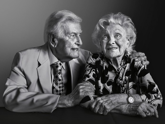 Фотографии 100-летних людей