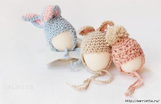 Крючком. Теплые шапочки для яиц (8) (565x366, 87Kb)