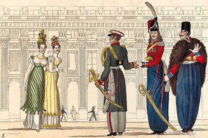 Почему дворяне в России говорили на французском языке?